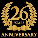 26th Logo